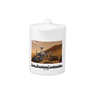 Exploración marciana del equipo (curiosidad Rover