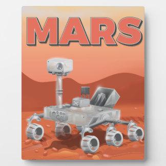 Exploración Rover de Marte Placas