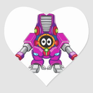 Explorador acorazado Gelzorn Pegatina Corazón