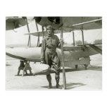 Explorador Byrd e hidroavión: 1900s tempranos Postal