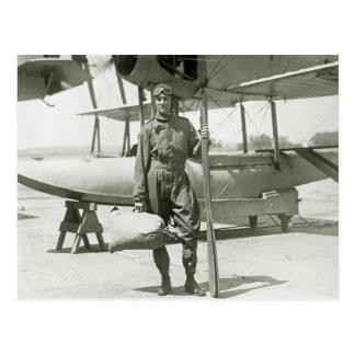 Explorador Byrd e hidroavión: 1900s tempranos Tarjetas Postales