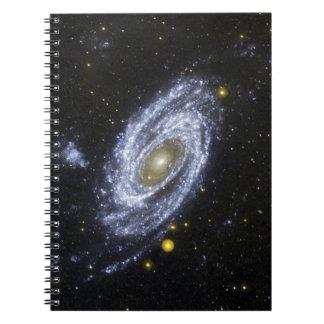Explorador de la evolución de la galaxia de la NAS Libro De Apuntes Con Espiral