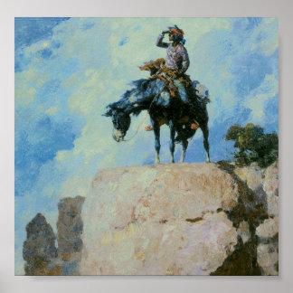Explorador de Navajo Póster