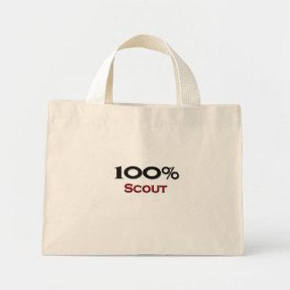 Explorador del 100 por ciento bolsa tela pequeña