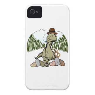 Explorador del dinosaurio de Rex del Tyrannosaurus Case-Mate iPhone 4 Cárcasas