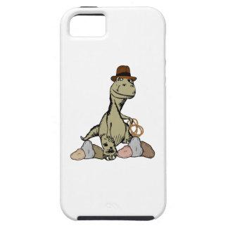 Explorador del dinosaurio del Tyrannosaurus del iPhone 5 Carcasas