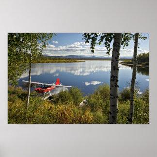 Explorador en el lago Kanuti Impresiones