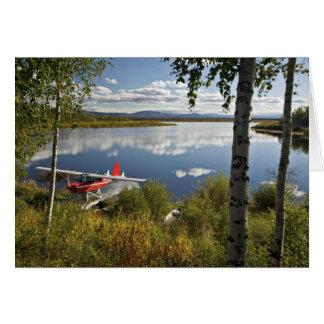 Explorador en el lago Kanuti Felicitación