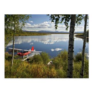 Explorador en el lago Kanuti Postales
