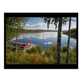 Explorador en el lago Kanuti Postal