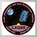 Explorador lunar LADEE del ambiente de la atmósfer Impresiones