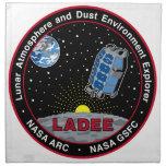 Explorador lunar LADEE del ambiente de la atmósfer Servilletas Imprimidas