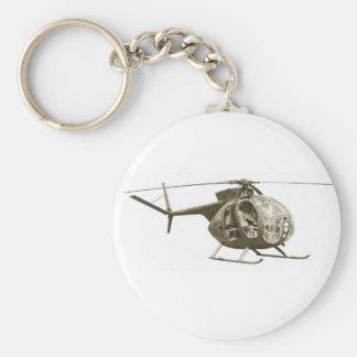 Explorador OH-6 Llavero Redondo Tipo Pin