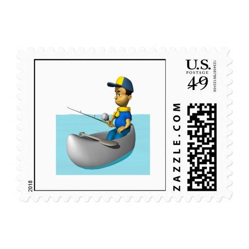 Explorador que pesca 2 sellos