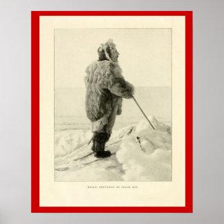 Exploradores del vintage, Roald Amundsen, explorad Impresiones