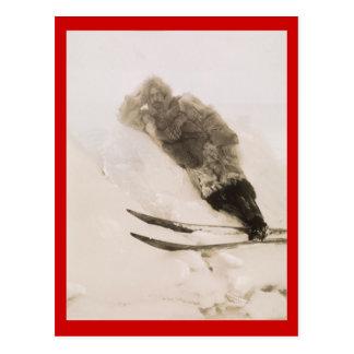Exploradores del vintage, Roald Amundson en engran Postal