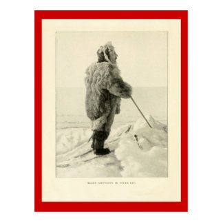 Exploradores del vintage, Roald Amundson en engran Tarjeta Postal
