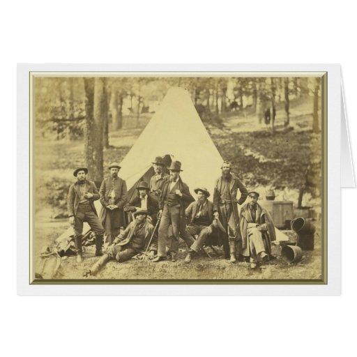 Exploradores y guías al ejército del Potomac Felicitaciones