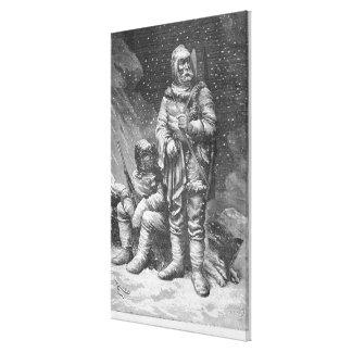 Exploration costumes canvas print