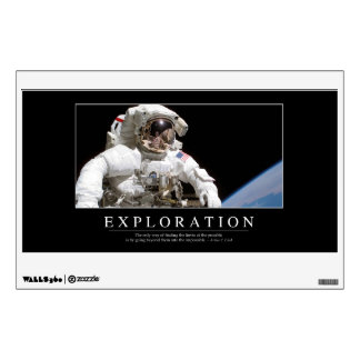 Exploration: Inspirational Quote 2 Wall Sticker