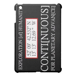 Exploration [of] Humanity Rendlesham Binary Code iPad Mini Covers