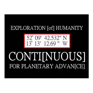Exploration [of] Humanity Rendlesham Binary Code Post Cards