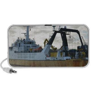 Exploration ship at dawn mp3 speaker