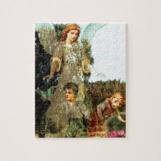 Explore - A Guardian Angel Watches Puzzle