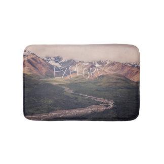 Explore Alaskan Landscape   Bath Mat