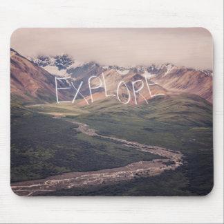 Explore Alaskan Landscape | Mouse Pad