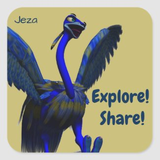 Explore and Share Stickers