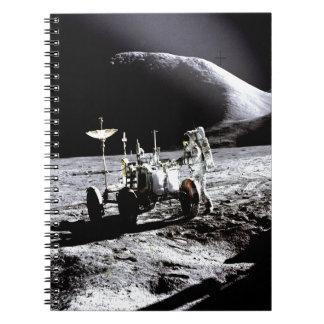 Explore and success moon rover astronaut nasa notebook