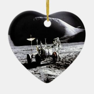 Explore and success moon rover astronaut nasa christmas tree ornaments