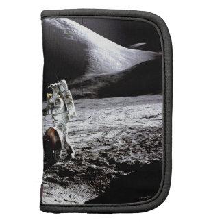 Explore and success moon rover astronaut nasa folio planner