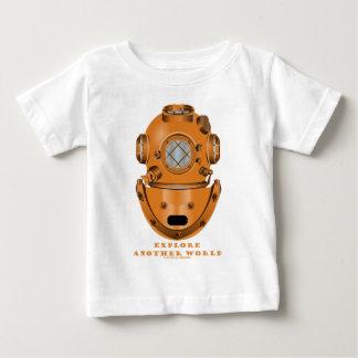 Explore Another World (Deep Diving Helmet) Baby T-Shirt