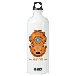 Explore Another World (Deep Diving Helmet) SIGG Traveler 1.0L Water Bottle