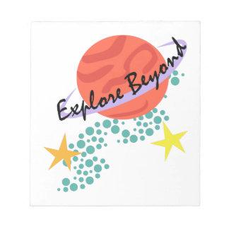 Explore Beyond Memo Pad
