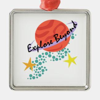 Explore Beyond Christmas Tree Ornament
