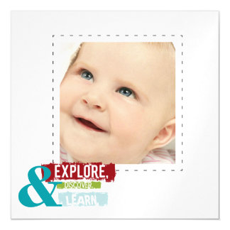 """""""explore discover learn""""   photo thin magnets"""