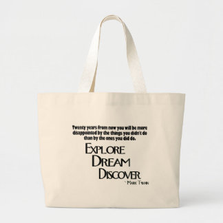Explore, Dream & Discover Bag