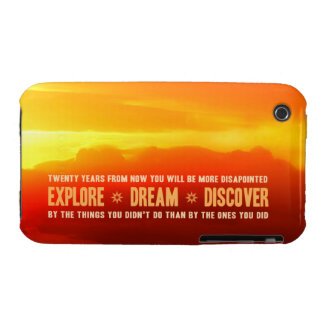 Explore. Dream. Discover. iPhone 3 Covers