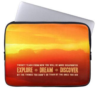 Explore. Dream. Discover. Computer Sleeve