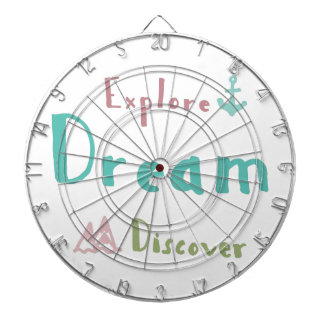 Explore Dream Discover Dartboard With Darts