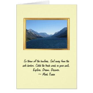Explore Dream Discover - Good Bye Card