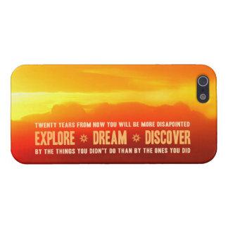 Explore. Dream. Discover. iPhone 5 Case