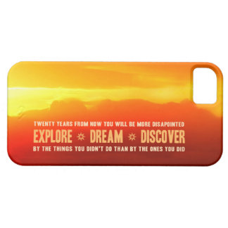 Explore. Dream. Discover. iPhone SE/5/5s Case