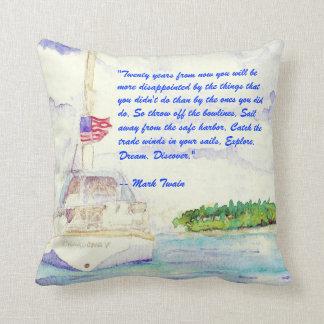 Explore, Dream, Discover Pillow