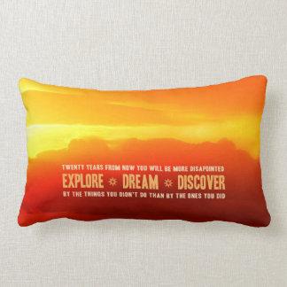Explore. Dream. Discover. Pillow