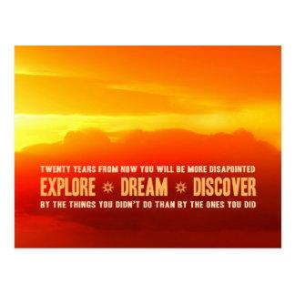 Explore. Dream. Discover. Post Cards