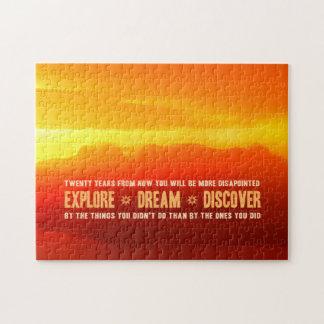 Explore. Dream. Discover. Jigsaw Puzzle